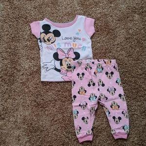 Mickey and Minnie PJs